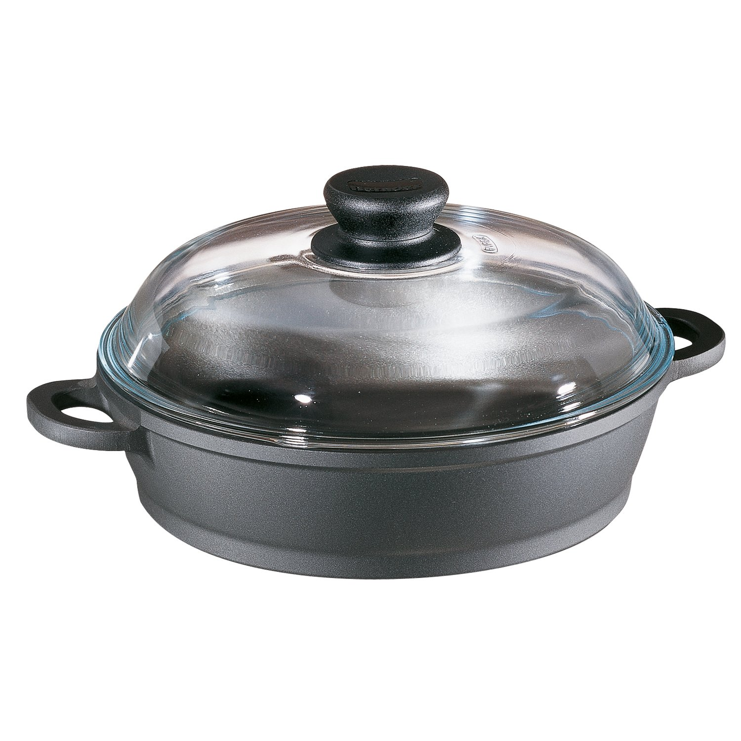 Berndes 674049 Tradition Sauté Casserole Pan with Glass Lid, 11 Inches