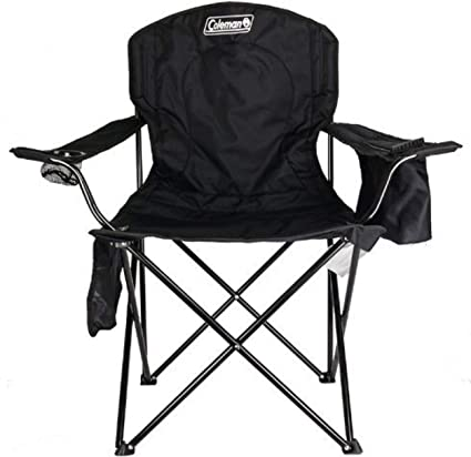 LIGHTWEIGHT FOLDING CHAIR WITH FOAM ARMS IDEAL FOR GARDEN AND BEACH