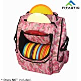 FITACTIC Luxury Frisbee Disc Golf Bag Backpack (Capacity: 25-30 Discs)