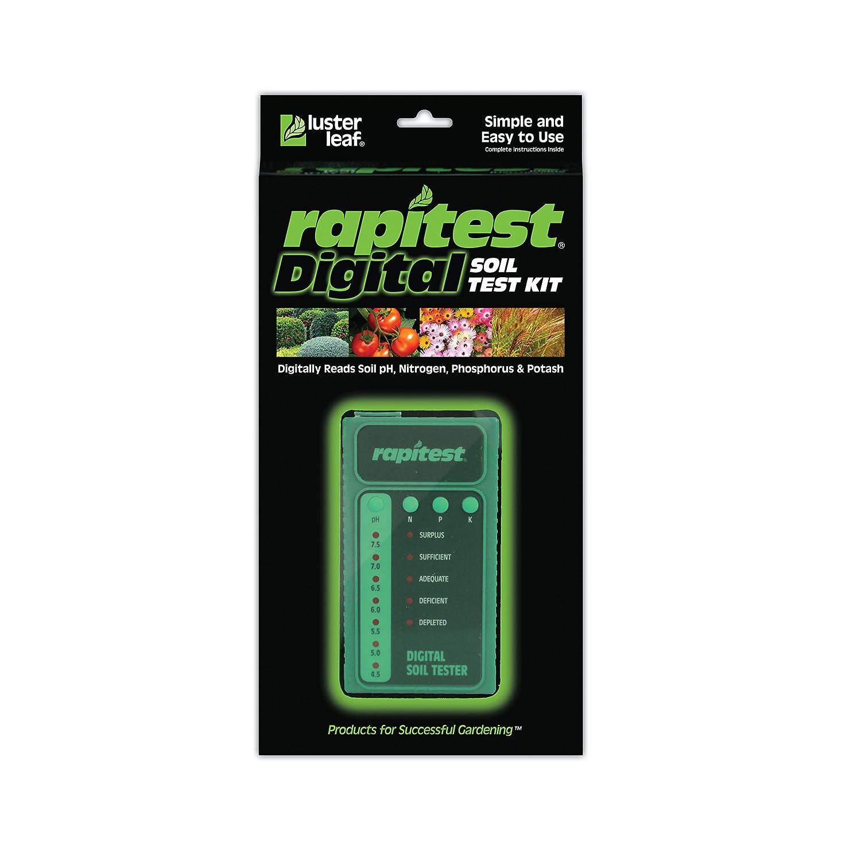 Luster Leaf 1605 Digital Soil Testing Kit, 1 pH, N, P and K