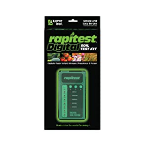 Luster Leaf 1605 Rapitest Digital Soil Tester