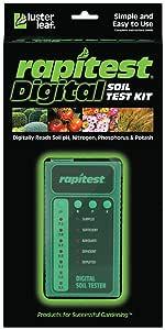 Luster Leaf 1605 Digital Soil Test Kit for pH, N, P and K, 1