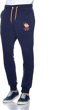Frank Ferry Polo Club Pantalones De Chandal Azul Marino Rosa S Amazon Es Ropa Y Accesorios