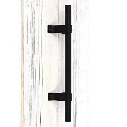 "Amazon.com: SMARTSTANDARD 12"" Heavy Duty Barn Door Long Pull Handle ..."