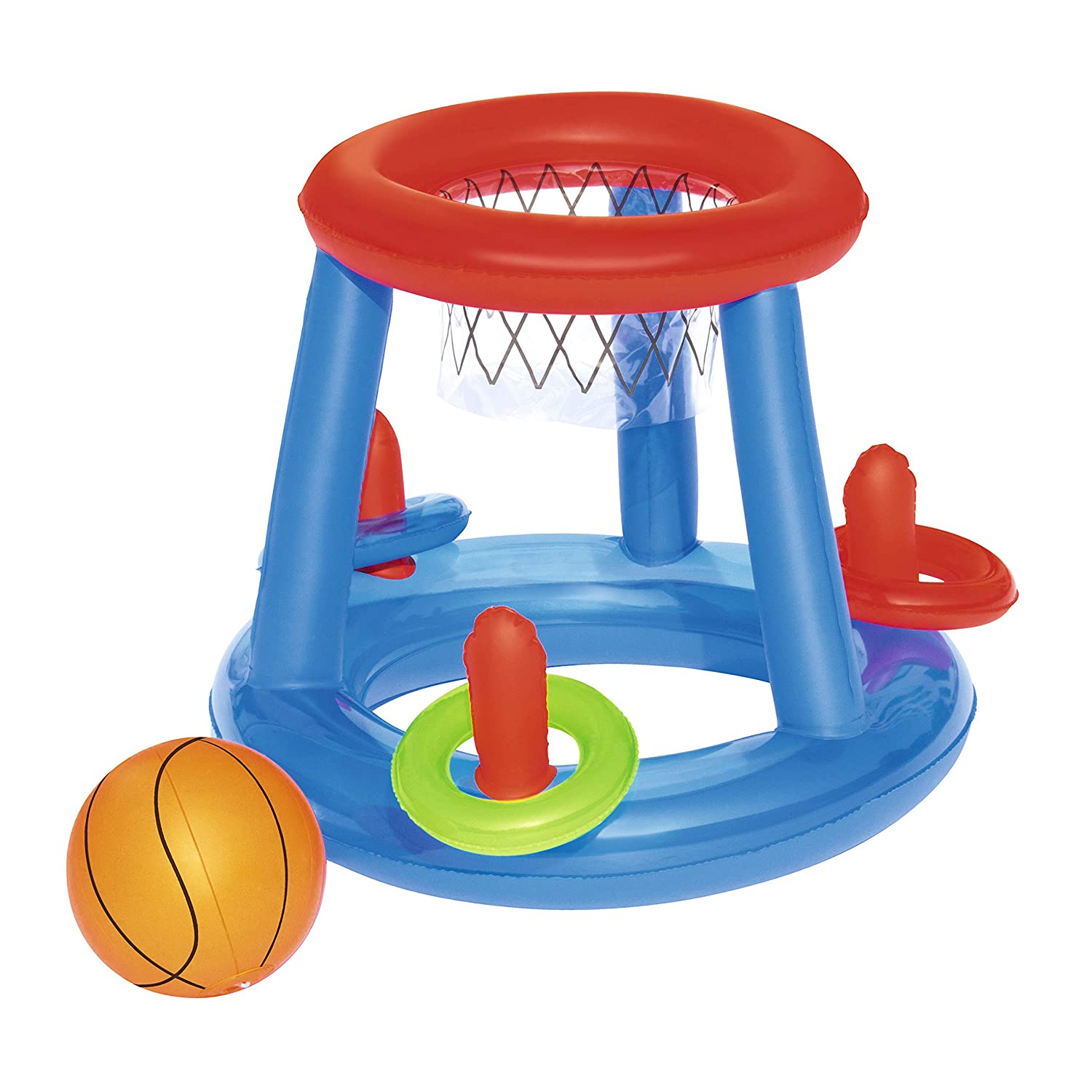 Canasta Hinchable Bestway Baloncesto Game Center Ø61 cm: Amazon.es ...