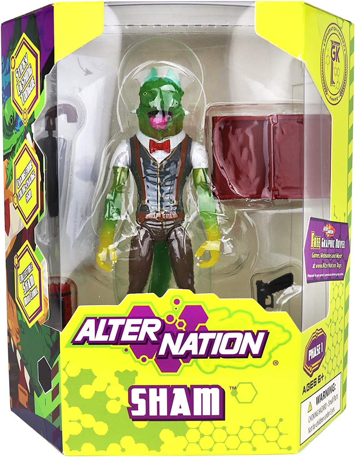 Alter Nation Sham Action Figure