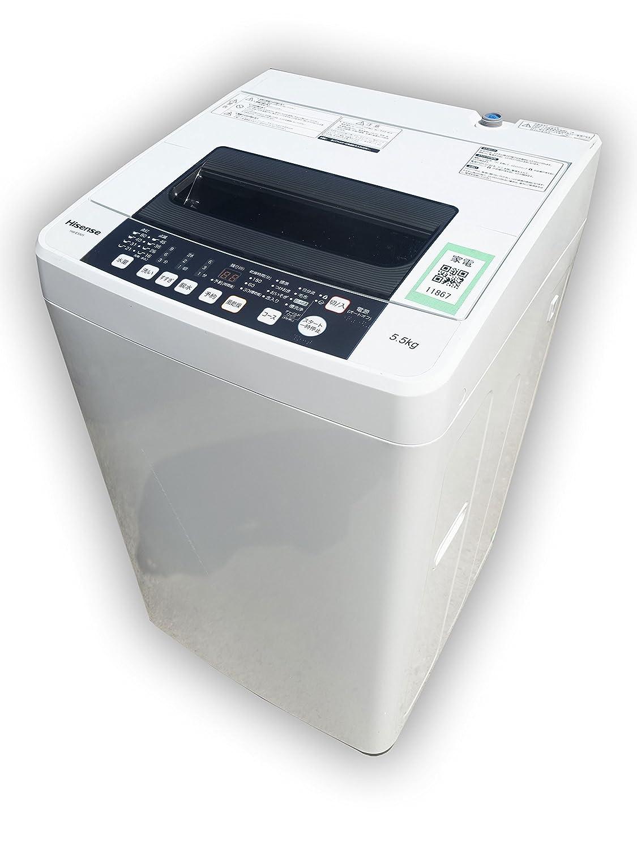 出産祝い K▼ハイセンス 洗濯機 (11867) 洗濯機 2016年 HW-E5501 5.5kg 風乾燥 ステンレス槽 HW-E5501 (11867) B07DBYMCYL, フカガワシ:4e72bc34 --- arianechie.dominiotemporario.com