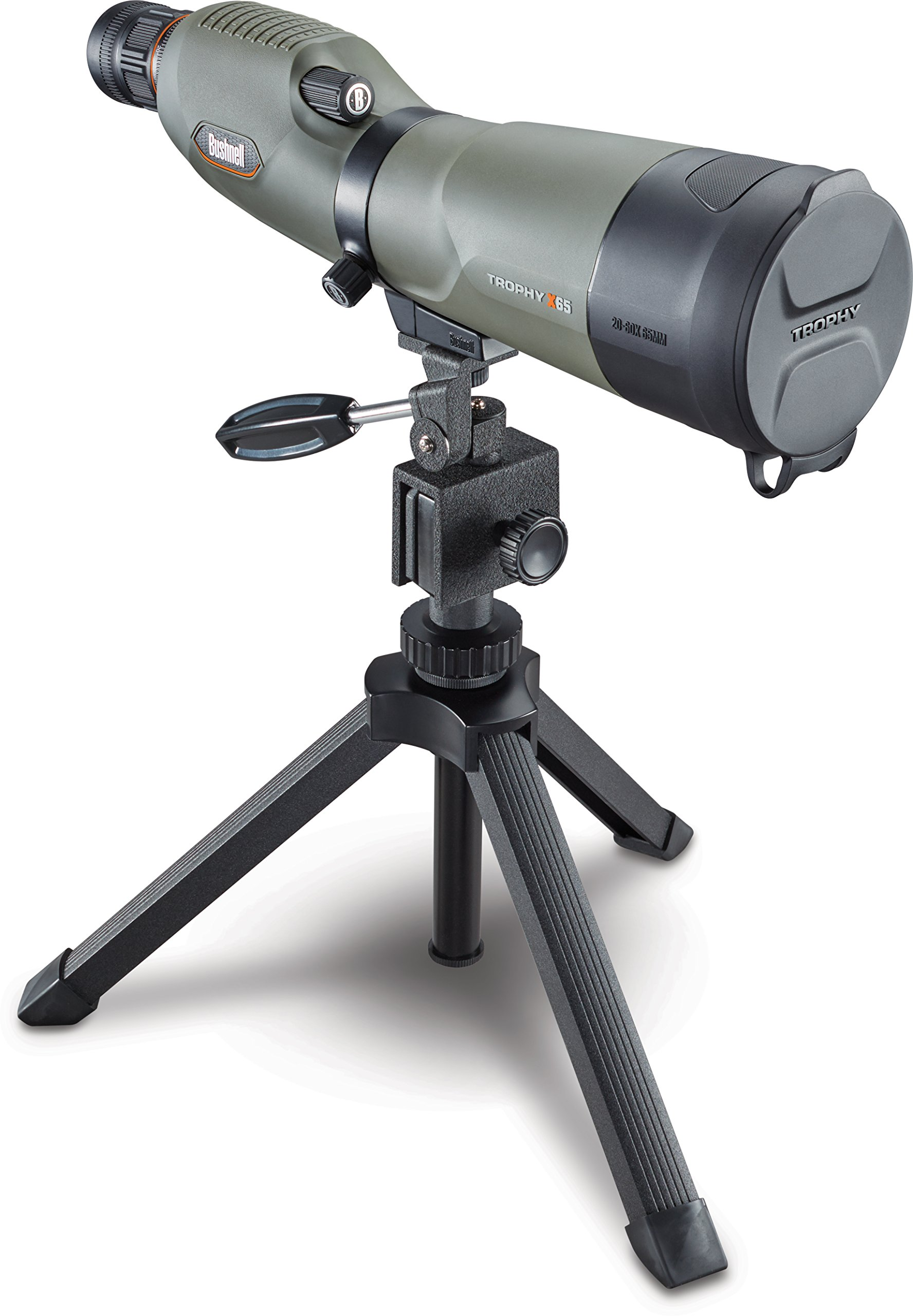Bushnell Trophy Xtreme Spotting Scope, Green, 20-60 x 65mm by Bushnell (Image #2)