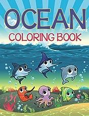 Ocean Coloring Book: Coloring Books for Kids (Art Book Series)