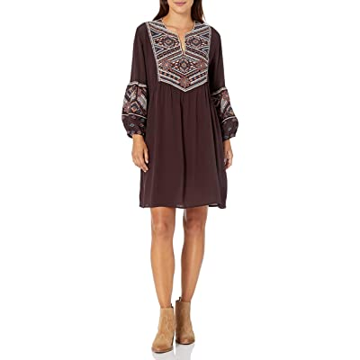 3J WORKSHOP Women's Silk Dress with Embroidery at Women's Clothing store