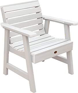 product image for Highwood Weatherly Garden Chair, White