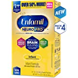 Enfamil 美赞臣 NeuroPro婴儿奶粉(0-12个月) 4盒装(890g*4)