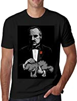 Godfather and Garfield Hombres Camiseta