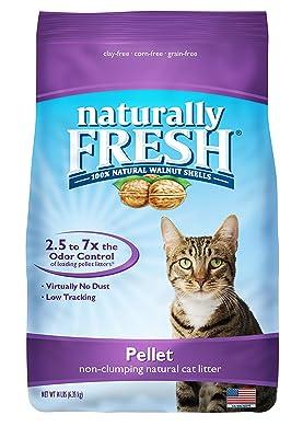 Naturally Fresh Walnut-Based Pellet Non-Clumping Cat Litter