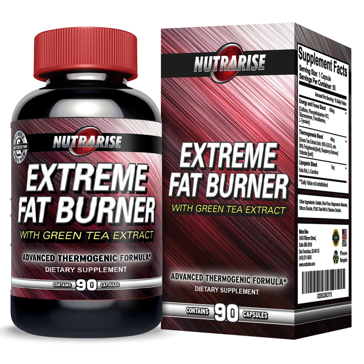 Burn Extreme Lipo SLIMMING DIET PILLS 30-Capsules,Fat Burner,Lose 20lbs In Weeks