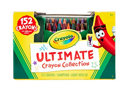 Amazon.com: Crayola Ultimate Crayon Collection, 152 Crayons ...
