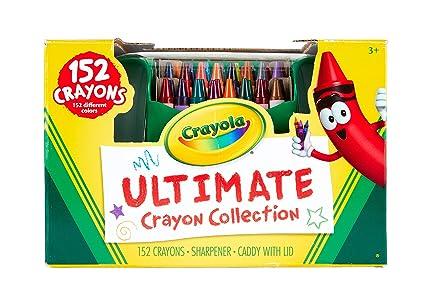 Amazon.com: Crayola Ultimate Crayon Collection, 152 Pieces, Coloring ...