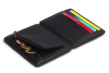 Design Magic Wallet Geldbörse Mit Münzfach Und Rfidnfc Schutz