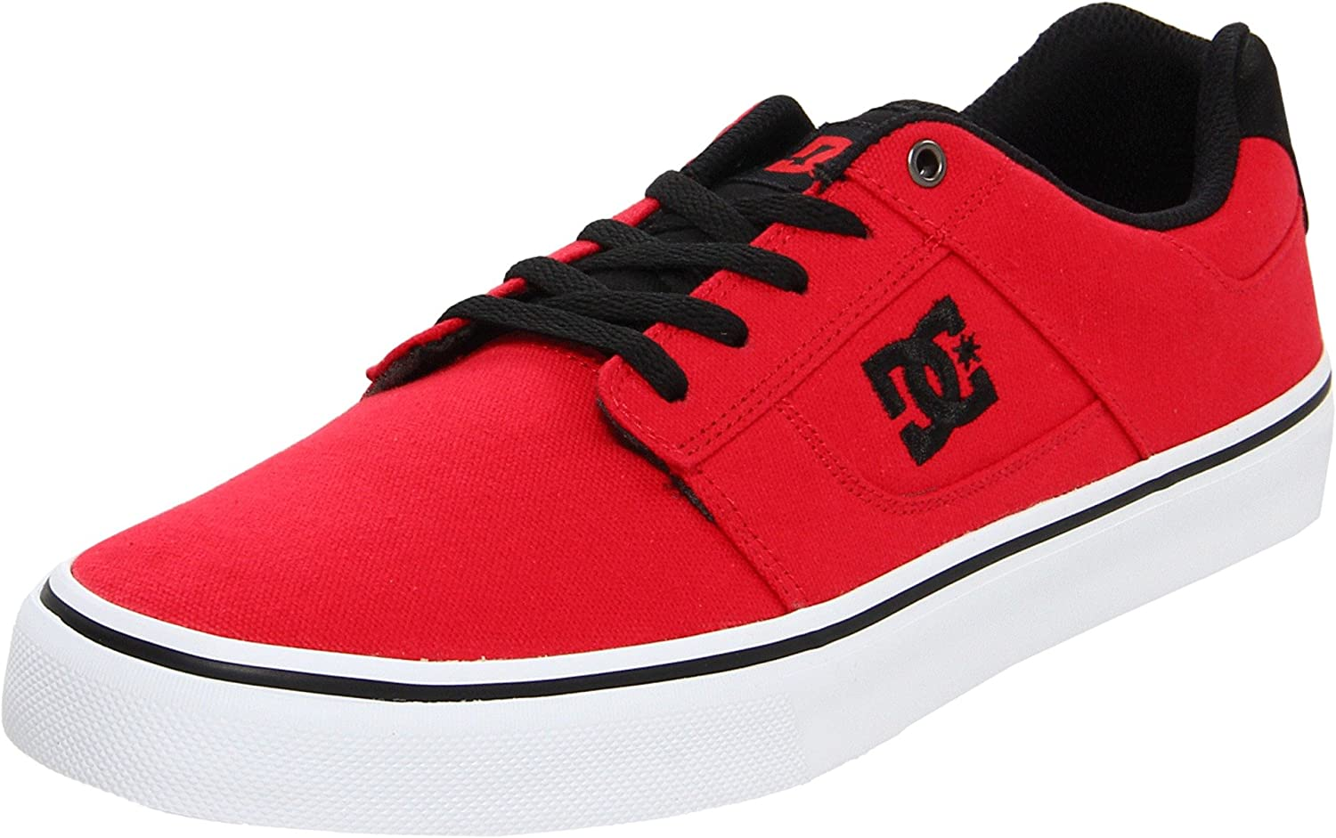 DC Men's Bridge TX Sneaker 6 D(M) US|Athletic Red/Black