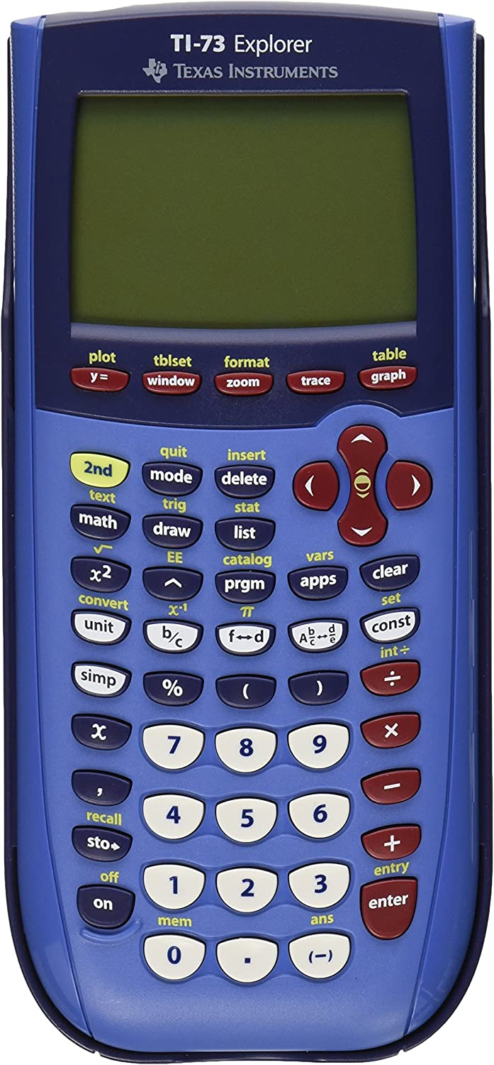 B00004UFME Texas Instruments TI-73 Graphing Calculator 81zzVsj6WiL.SL1500_