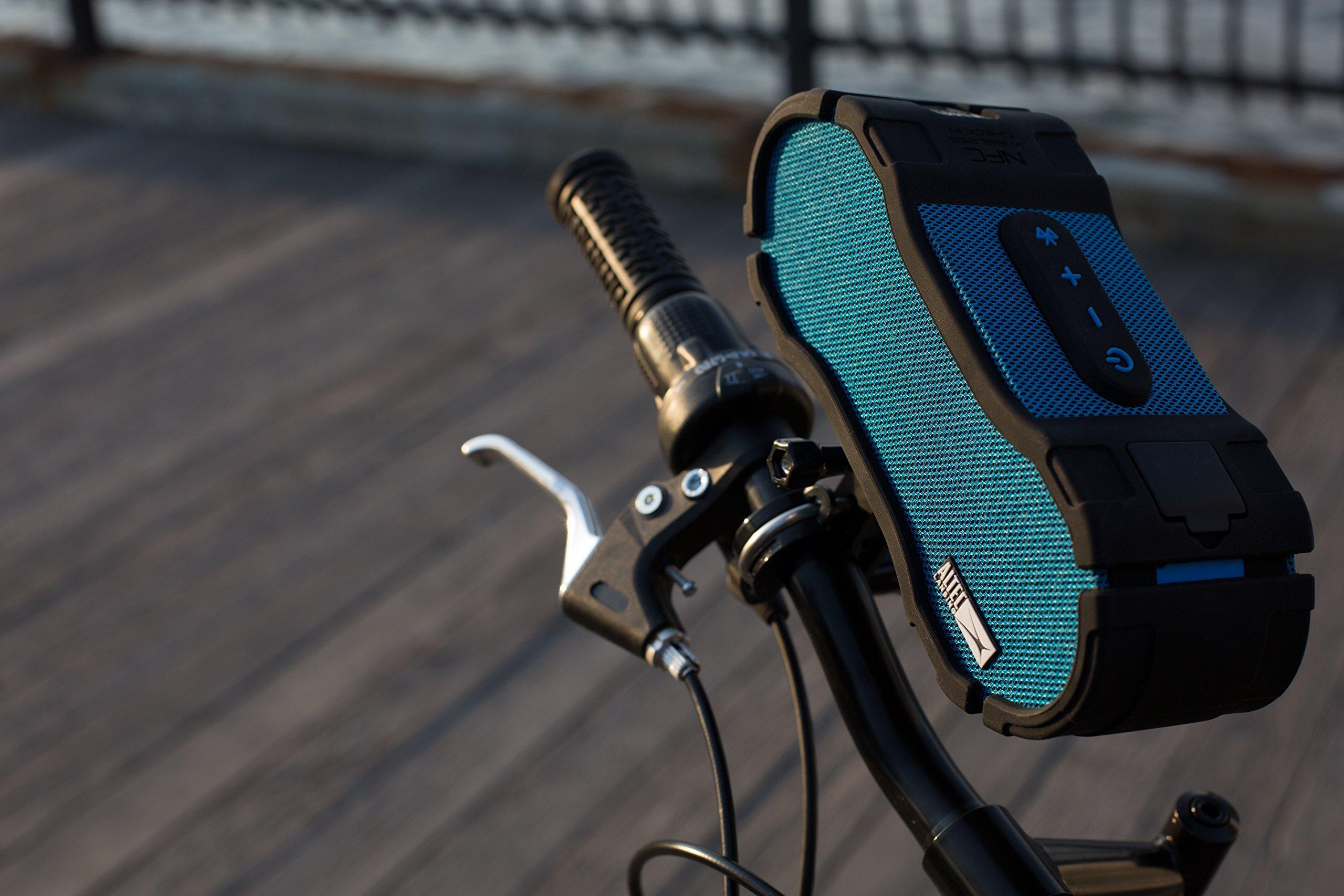 Altec Lansing IMW458-BLK Miniboom Jacket Waterproof, Shockproof & Floatable  Speaker