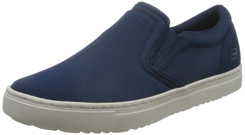 Skechers Alven-Comend, Mocasines para Hombre 39.5 EU Azul (Navy)