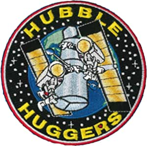 """3.5"""" NASA HUBBLE SPACE TELESCOPE MISSION PATCH"""