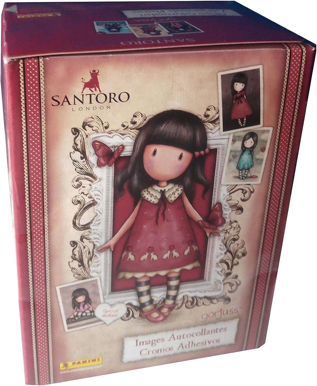 Gor-juss Caja con 50 cromos (Panini 003459BOX50E): Amazon.es ...