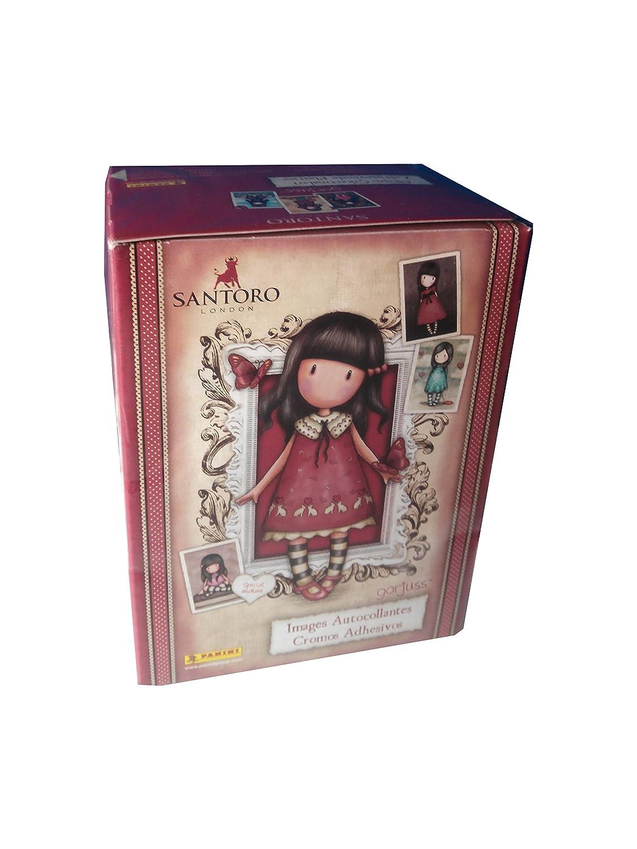 Gorjuss Caja con 50 cromos Panini 003459BOX50E: Amazon.es: Juguetes y juegos