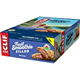 CLIF Fruit Smoothie Filled - Organic Energy Bar - Wild Blueberry Acai Flavor - (50 Gram Protein Snack Bar, 12 Count)