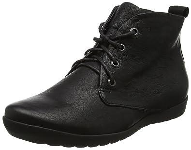 Think Damen ANNI_181052 Desert Boots, Schwarz (Schwarz 00), 41.5 EU