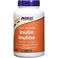 NOW Org Inulin 100 Percentage Pure Powder, 227g