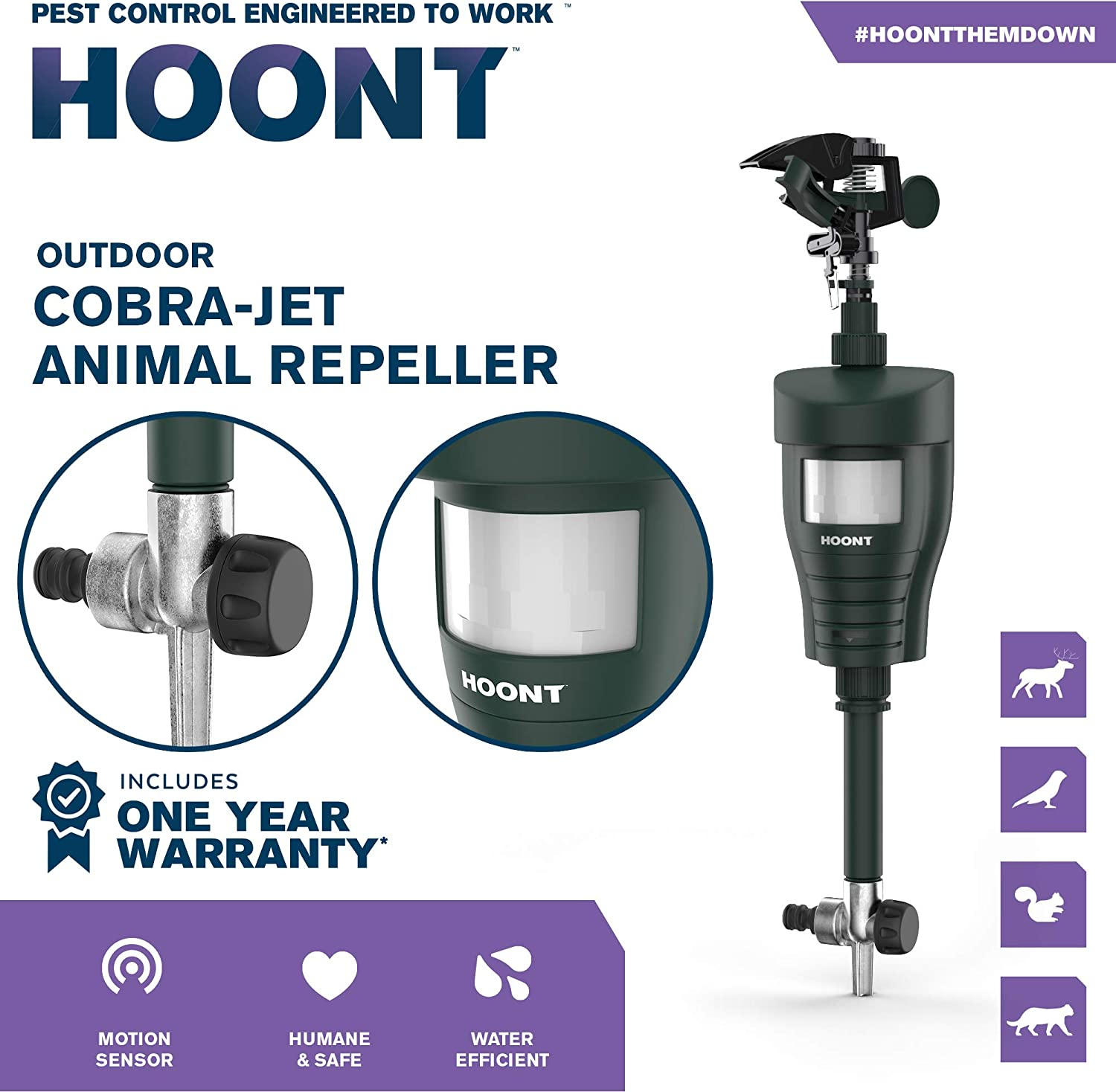 hoont jet blaster animal repellent