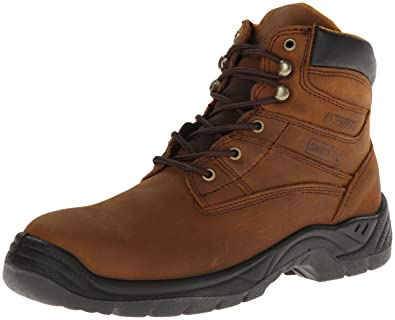 Itasca Men's Authority 6 Inch Medium Work Boot, Brown, ...