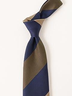 Silk Stripe Tie 21-44-6003-380: Beige