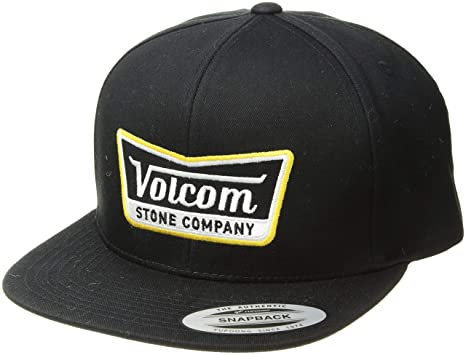outlet store aa58c 77abb Volcom Men s Cresticle Hat, Black top, ONE Size FITS All