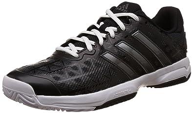 adidas Barricade Club XJ Junior Court Shoes - AW16-6 - Black