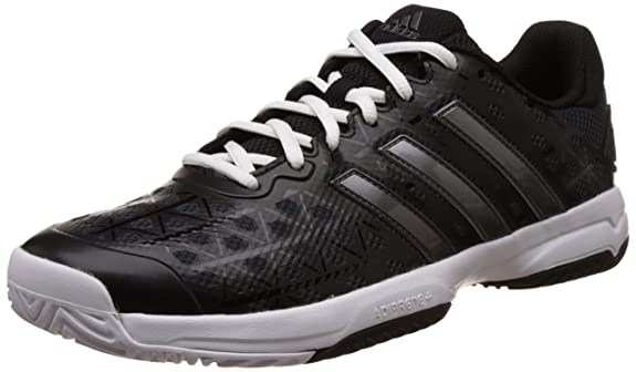 Amazon.com: adidas Barricade Club XJ Junior Court Shoes - AW16-6 - Black: Shoes