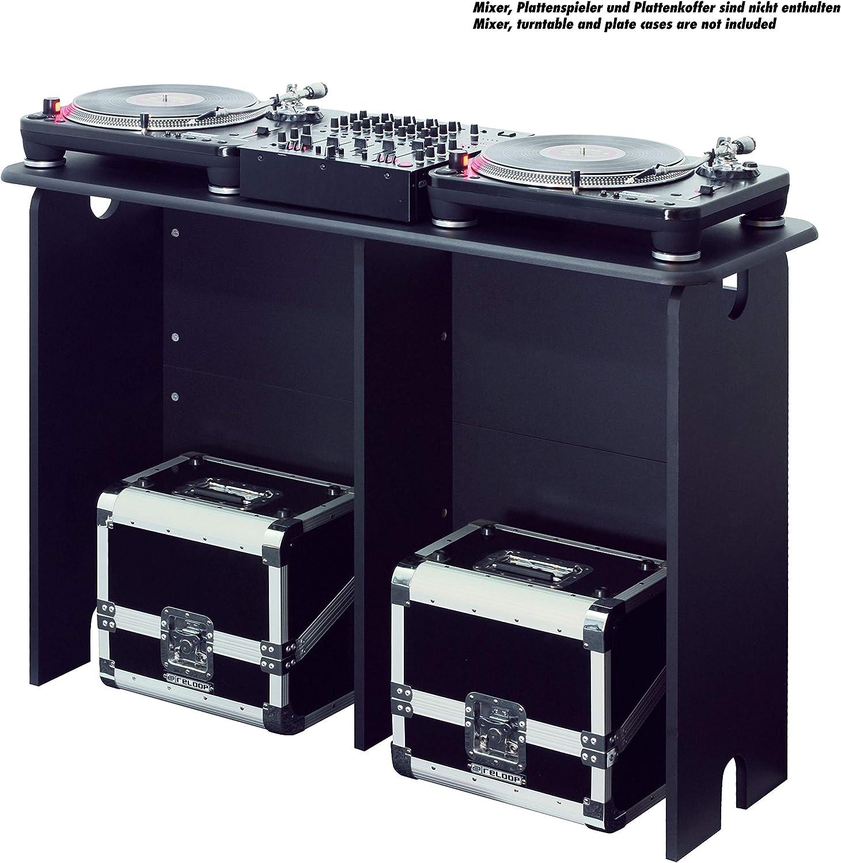Glorious DJ Estación de trabajo DJ mesa DJ color negro: Amazon.es ...