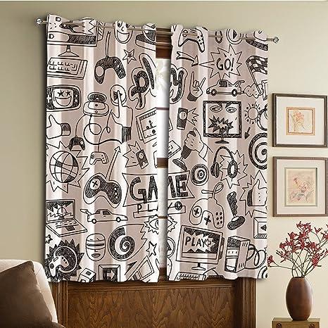 Amazon.com: Diseño personalizado cortinas/Vintage encaje ...