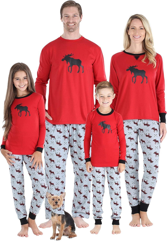 Sleepyheads Matching Family Christmas Pajama Sets, Bear