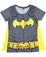 Bioworld Batman Suit Up Womens Sublimated Caped Tee