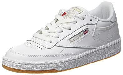 83a97761365410 Reebok Club C 85 Shoes 6.5 B(M) US Women White Light Grey