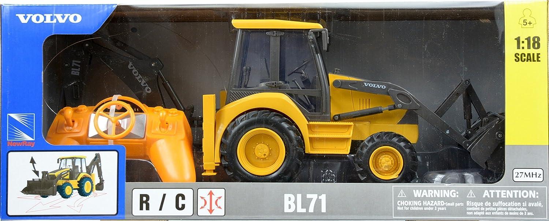 amazon com volvo bl71 volvo remote controlled backhoe loader