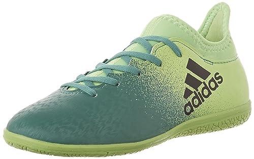 3a72e8172 Adidas Kids X 16.3 Indoor Junior Soccer Shoes
