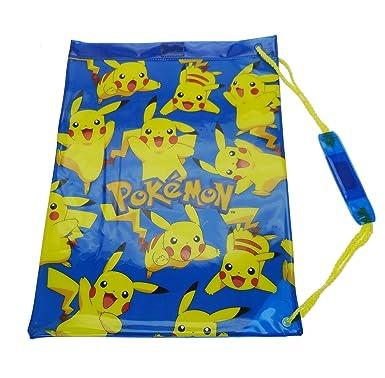 Character Pokemon  Pikachu  Kids Swim PVC Bag  Amazon.co.uk  Clothing a82ac413aeace