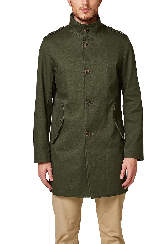 TALLA Medium (Talla del fabricante: 48). ESPRIT Collection Abrigo para Hombre