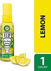 Air Wick VIPOO Toilet Perfume Spray, Lemon Idol, 55 ml, Pre-Poop Spray