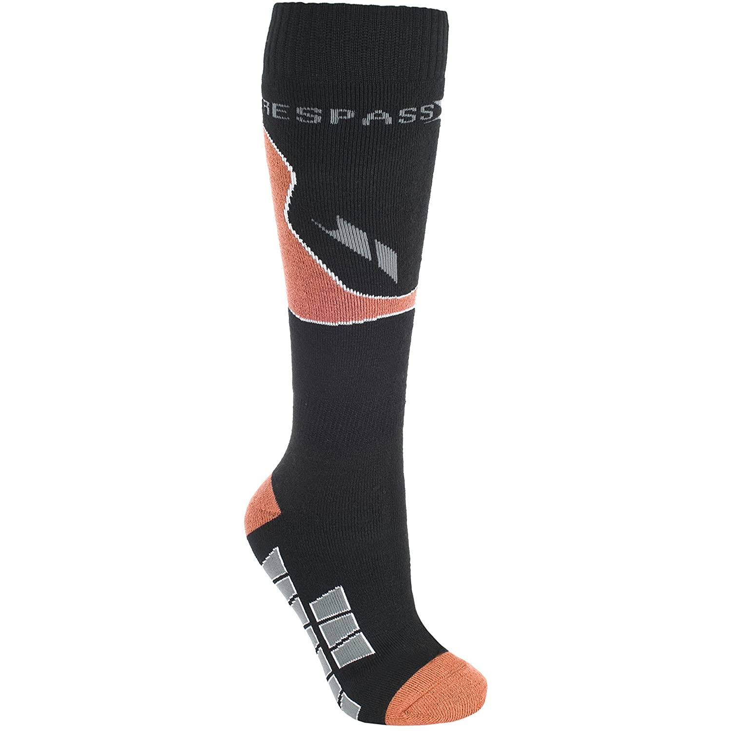 Trespass Mens Drummond Technical Reinforced Ski Socks UTTP2419_1