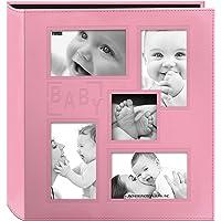 Pioneer Photo Albums 5COL-240B Pink Photo Album